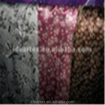 Silk-like Printed Satin Fabric for Lady Dress customize-made