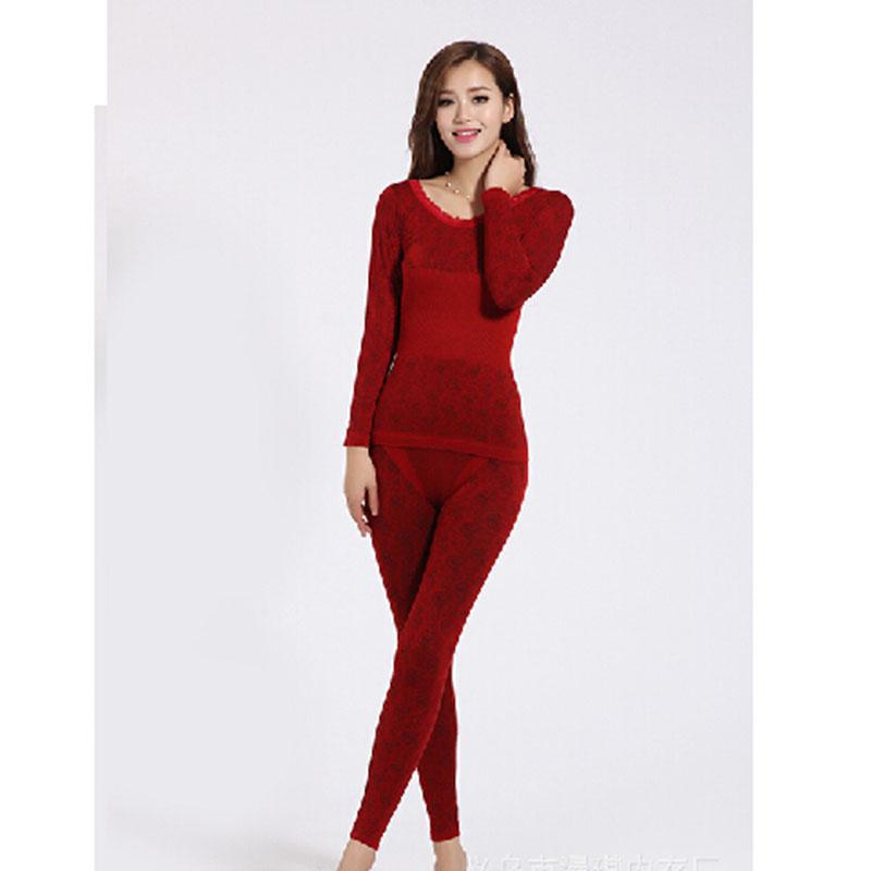 new winter thermal underwear women 39 s long johns slimming. Black Bedroom Furniture Sets. Home Design Ideas