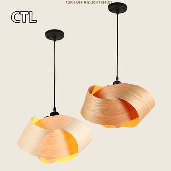 Home Decoration Modern Lighting Lamps Fancy Designer Bark Chandeliers Pendant Lights