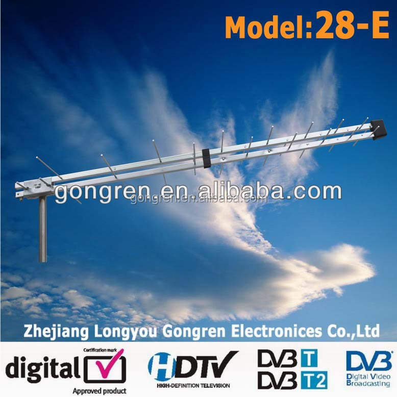 dvb t2 HDTV Digital UHF outdoor digital antena wifi antenna tv 28-E