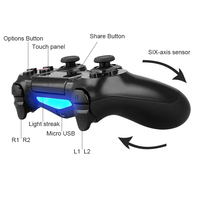 Wireless Bluetooth Controller For PS4 Gamepad For Play Station 4 Joystick Console For Dualshock4