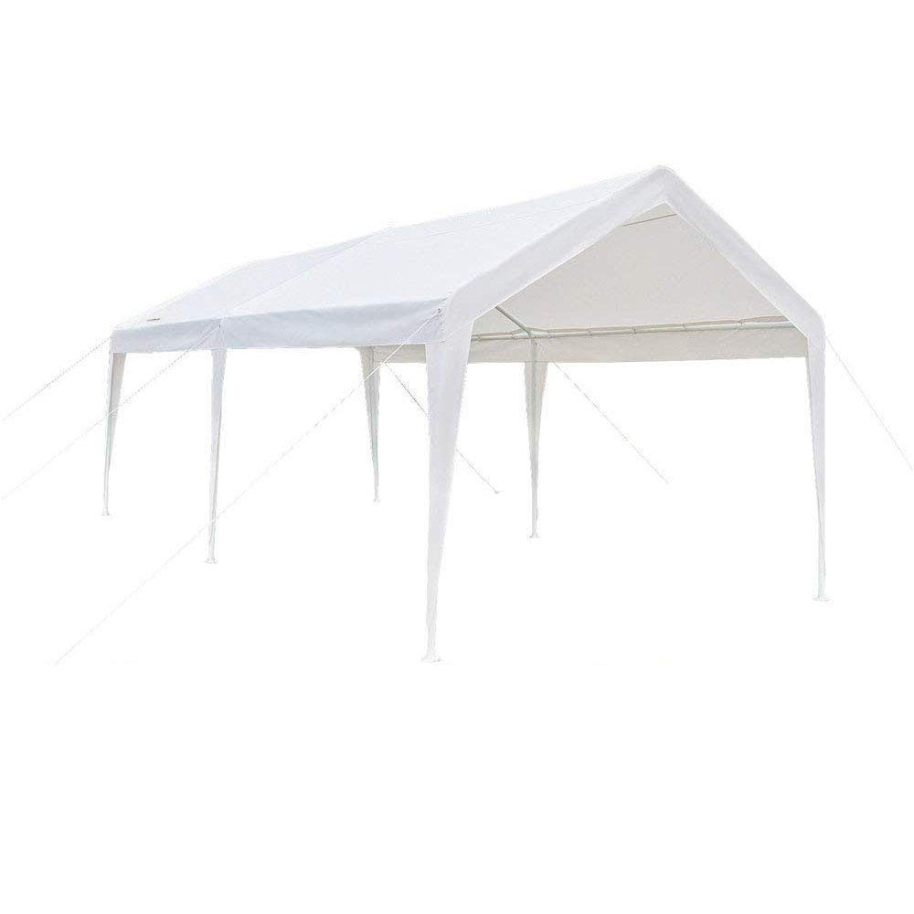 Buy Vingli 10 X 20 Heavy Duty Outdoor Domain Carport Car Park Sun