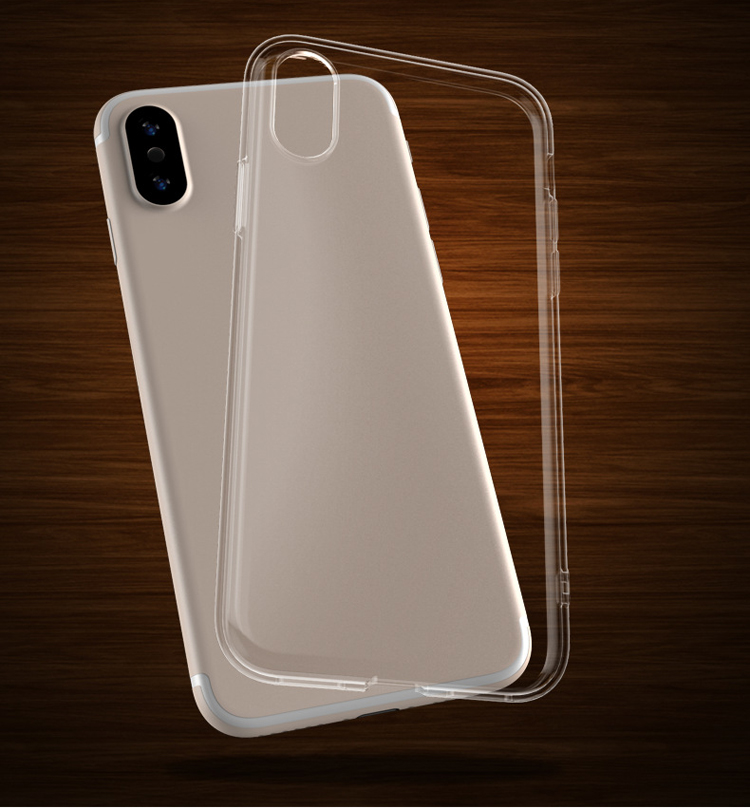 Wholesale Transparent Clear Soft TPU Shockproof Mobile Phone <strong>Cover</strong> for iphone XR/XS/XSMax Phone Case and Accessories