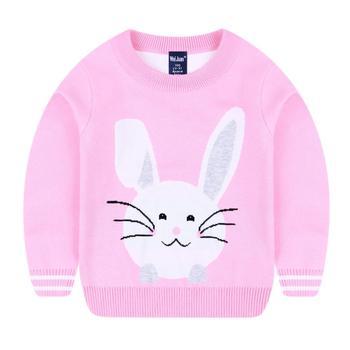 fc43d6ac7 2018 New Design Rabbit Cartoon Baby Girls Cotton Knitting Patterns ...
