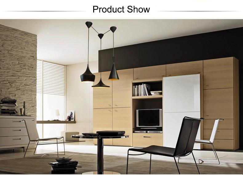 Kronleuchter Für Hohe Decken ~ Hohe decke amerikanische moderne schwarz kronleuchter beleuchtung