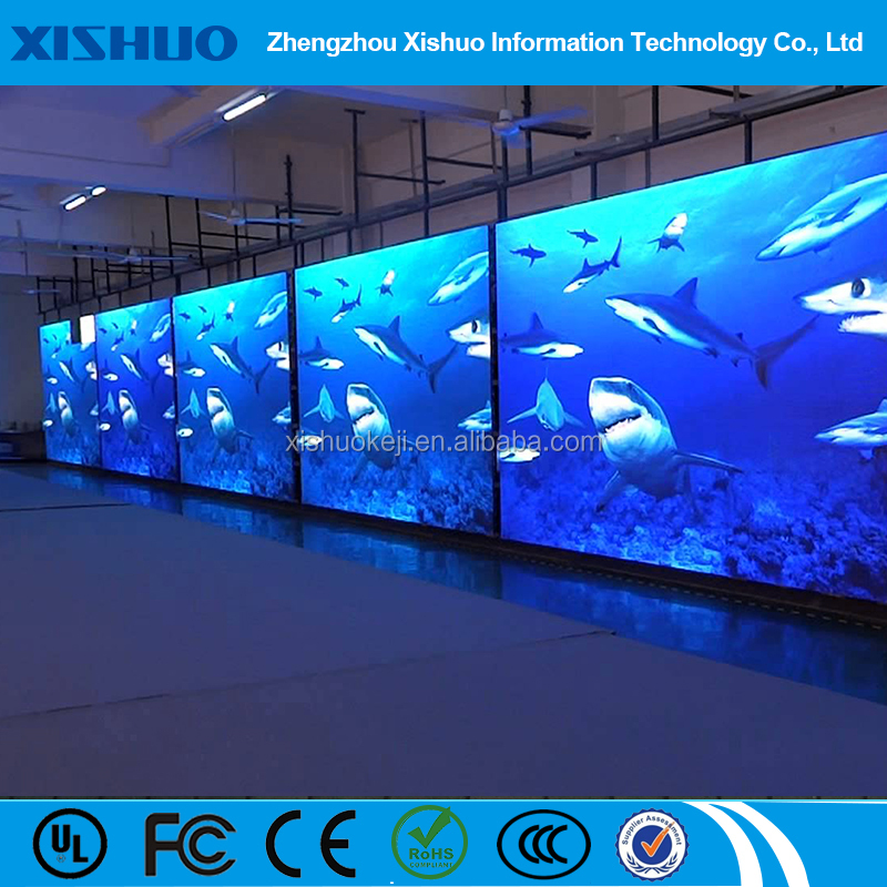 China free video indoor p5 usb led display led poster transparent display price