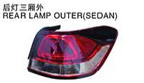 For Citroen Quatre 08 11 Bx3 C4ii Auto Car Rear Lamp Rear Light Outersedan Buy Auto Car Rear Lamp Rear Light Outersedanauto Car Rear Lamp