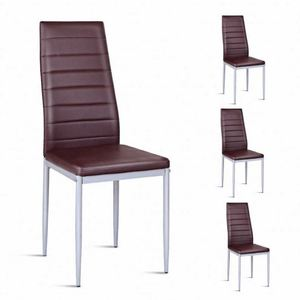 Free sample Wholesale Cheap dining room furniture pu/ leather Dining Chair