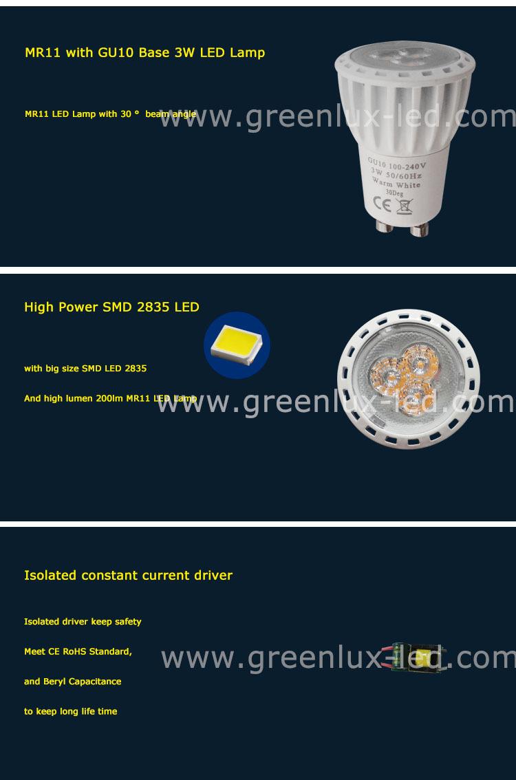 35mm g4 mr11 led spotlight 230v 3w 200lm with gu10 base 35mm diameter mini led spot buy mr11. Black Bedroom Furniture Sets. Home Design Ideas