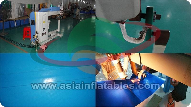 Aqua gonfiabile parco di divertimenti gonfiabile acqua iceberg/acqua parete di arrampicata/Acqua parete di roccia