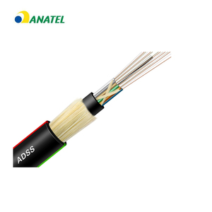 Stranded Loose Tube Cable adss cable 24 core single mode fiber optic cable made in guangdong china
