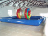 Inflatable Floating Island Pool swimming pool for Lake