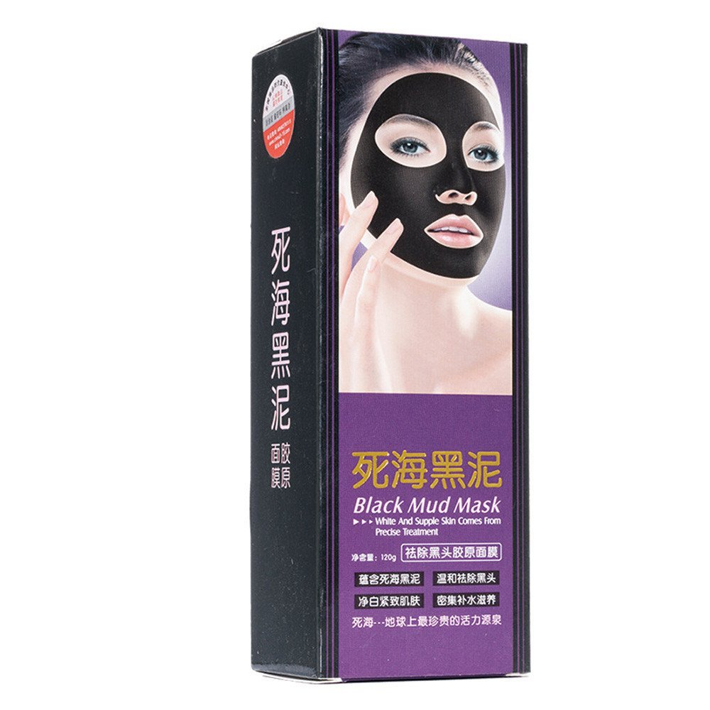 Remove Blackhead Facial Mask; Mosunx Skin Care Cream Deep Clean Purifying Black Mud Face Mask (Black)