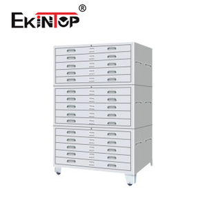 Ekintop blueprint histology paraffin block parts a1 art paper metal drawer storage cabinet with drawers