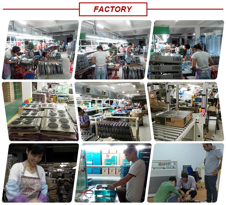 Hoge Kwaliteit China gasfornuis, gas en elektrische kachel meerdere kookplaat met 4 Branders groothandel
