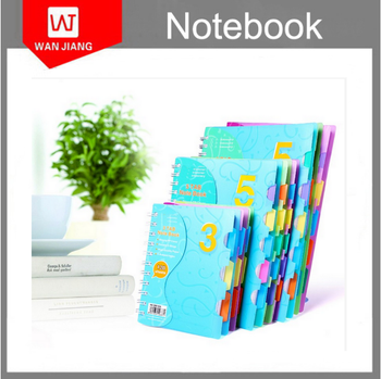 A4 A5 A6 A7 Size Spiral Notebook With Color Pages,Spiral Notebook ...