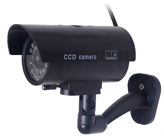 Security Cctv False Outdoor Ccd Camera Fake Dummy Security Camera ...