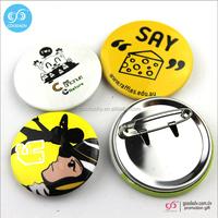 China factory promotional metal badge custom button badge pin
