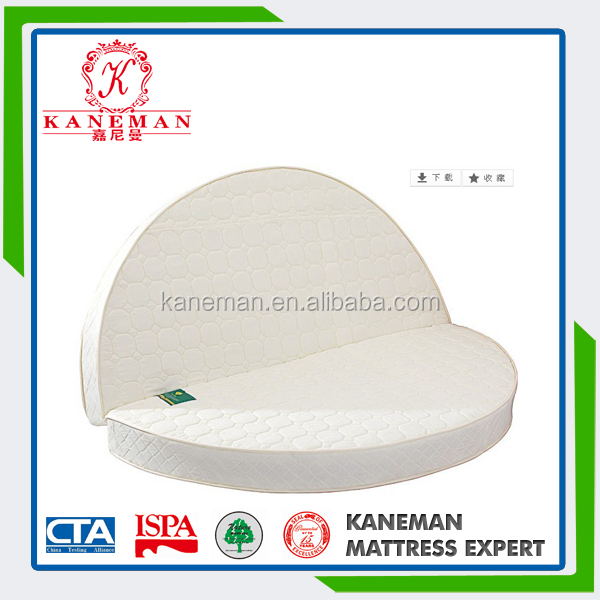 King size Euro pillow top round mattress for sale