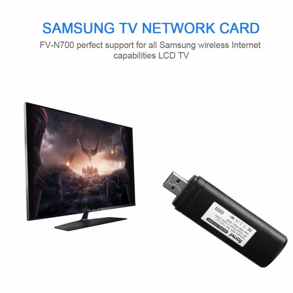 2 4g & 5g banda dupla 300 mbps sem fio wifi lan adaptador de rede smart tv  cartão para samsung wis12abgnx desktop portátil televisão