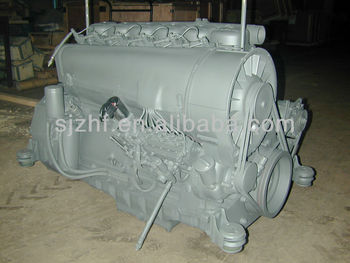 Deutz F6l912w Air Cooled 6 Cylindersel Engine For Wood Chipper