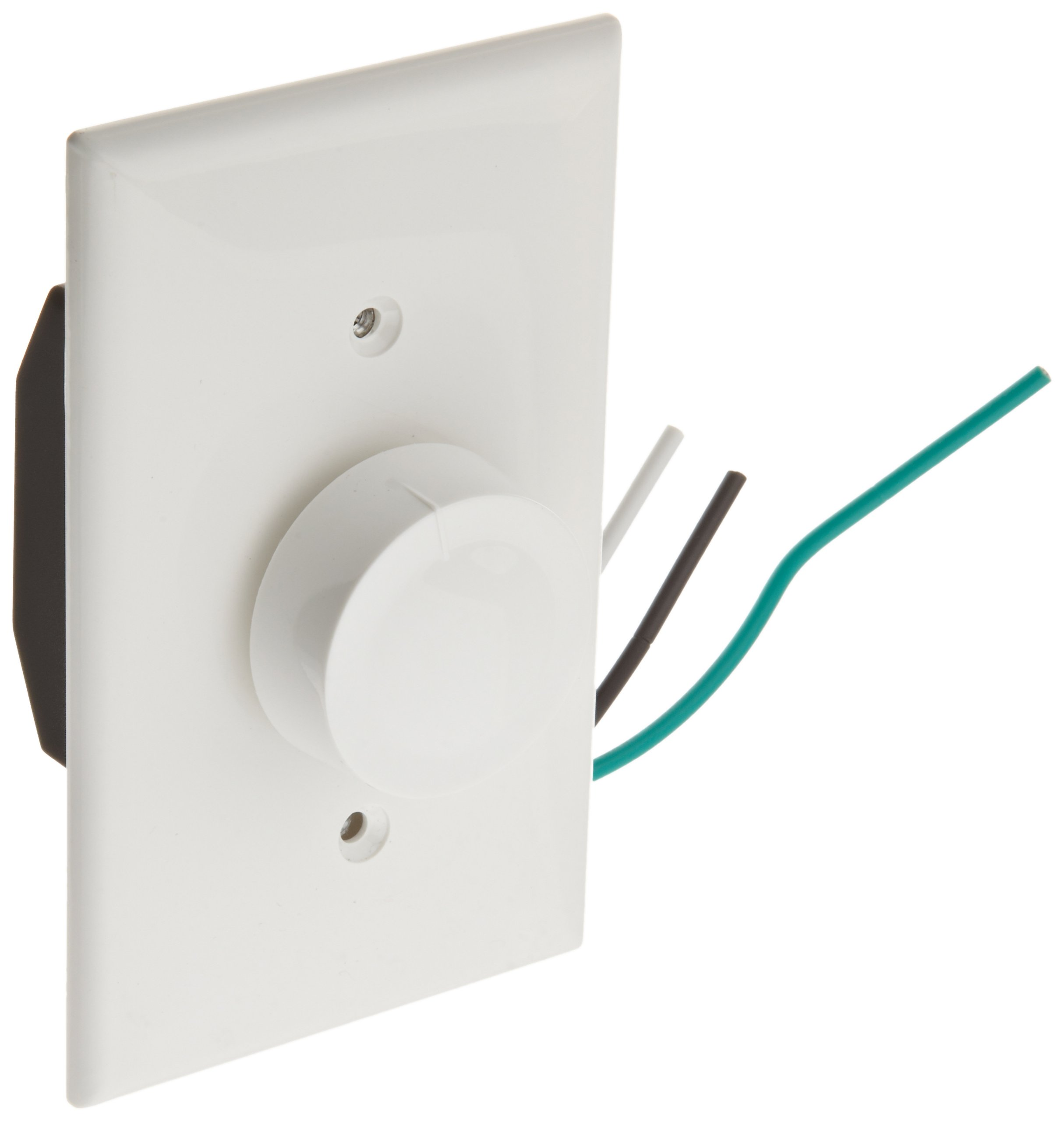Morris Products 82616 Rotary Fan Speed Controls, White, Single Pole, 120V, Variable Speed