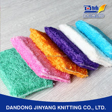 dining room cleaning bamboo fiber antibacterial oil free super absorbent customized scour pad
