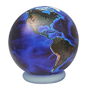 """Jet Creations / Great Inflate Giant Inflatable Globe Blue Marble 36"""" (Gto-36Tbm)"""