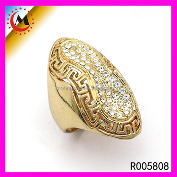China Supplier Fancy Dubai Wedding Rings Yellow Gold Ring For Men ...