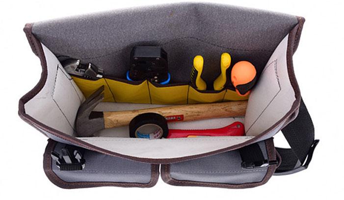 Electricista cintura bolsa titular trabajo conveniente Organizador bolsa de herramientas con cinturón