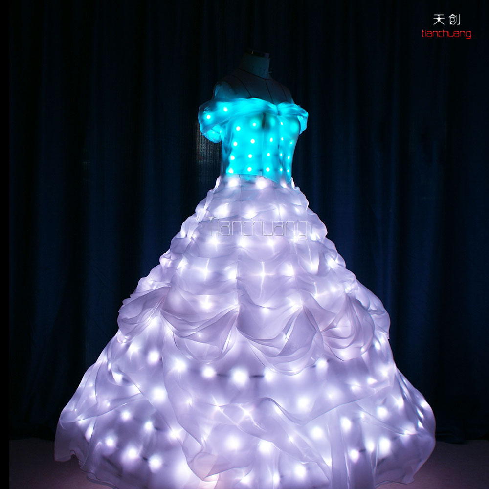 Dance Led Light Up Dress Lights