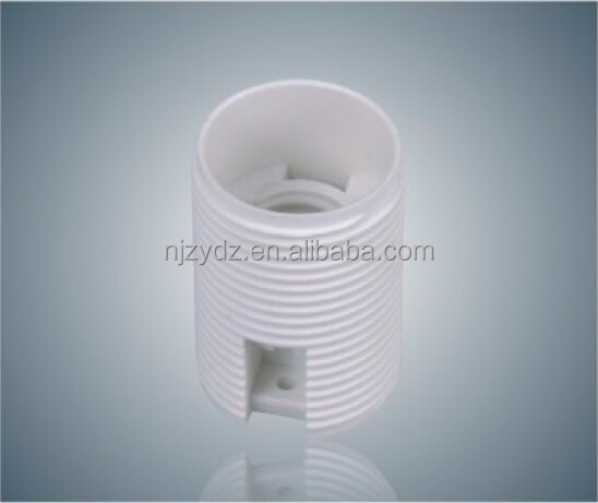 E14 white / black whole tooth lampholder e14 lamp socket