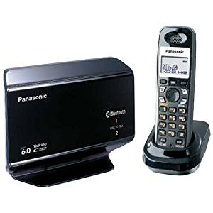 Panasonic KX-TH1211B Link-to-Cell Expandable Bluetooth-Enabled DECT 6.0 Phone System