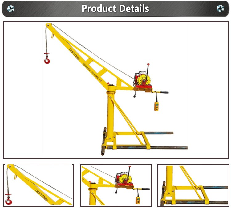 Construction Place Use Small Mini Lift Excel Engine Hoist