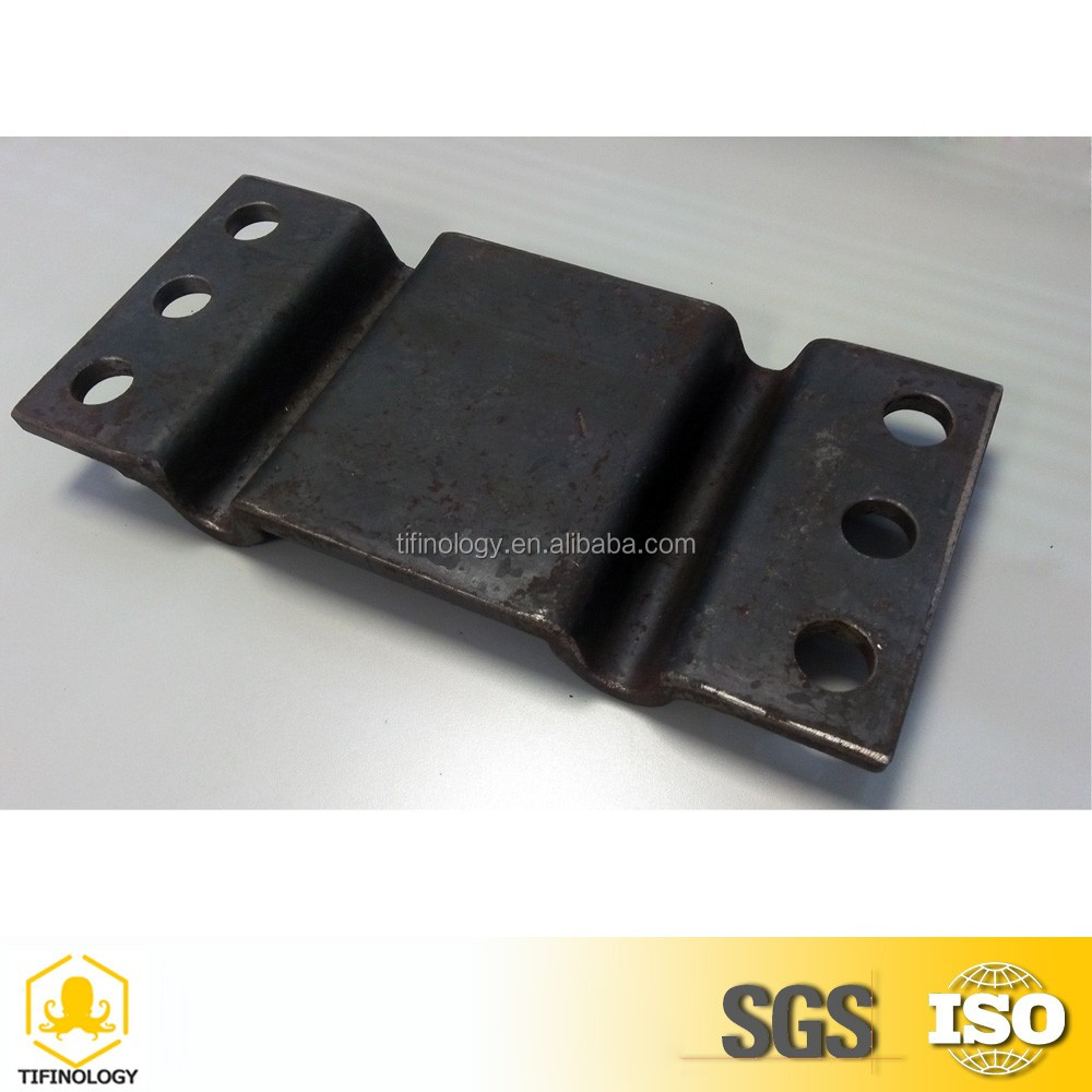 High quality Rail tie plate for railroad brace in railway equipment in fastener plate