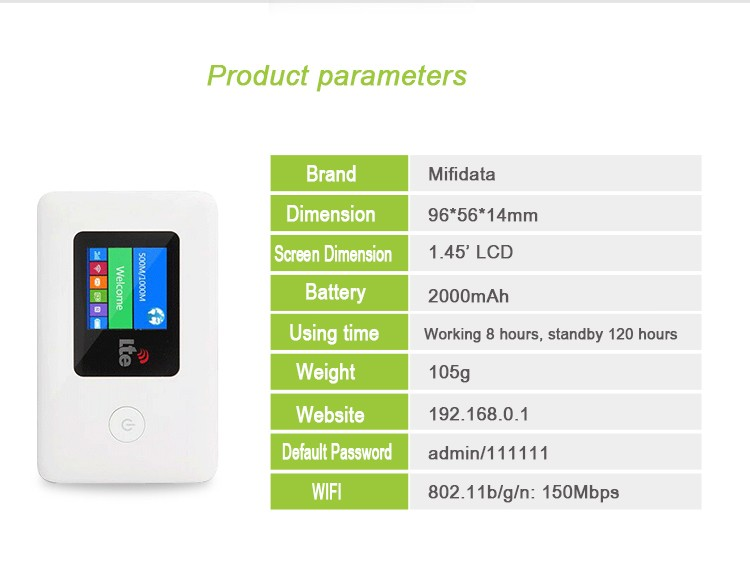 Global Europe Mini 4g Pocket Wifi Router 4g Hotspot Mifidata Lr113d - Buy  4g Pocket Wifi Router,Mini 4g Router,Mini 4g Pocket Wifi Router Product on