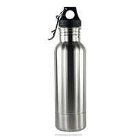 Newest 800ml stainless steel sports water bottle single wall with custom logo