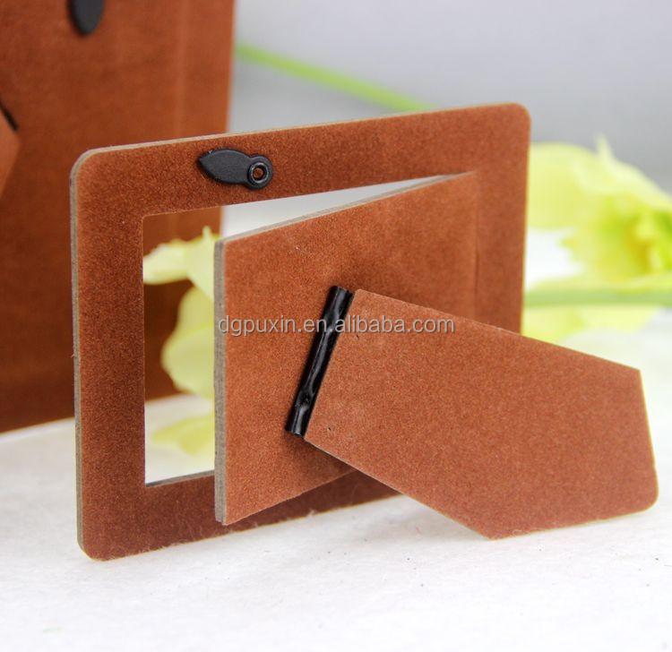 Flocking Paper Backboardbrown Photo Frame Back Boardeasel