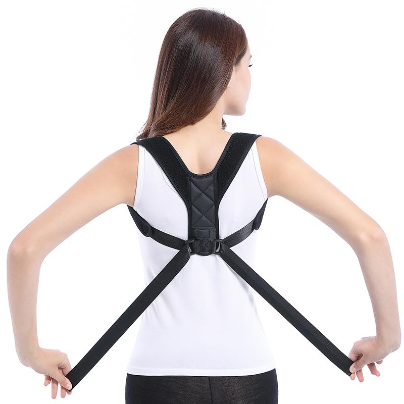 Amazon ZRWM30 Estável Corpo Shaper Posture Corrector em Melhorar A Postura Back Support Shoulder Brace Belt