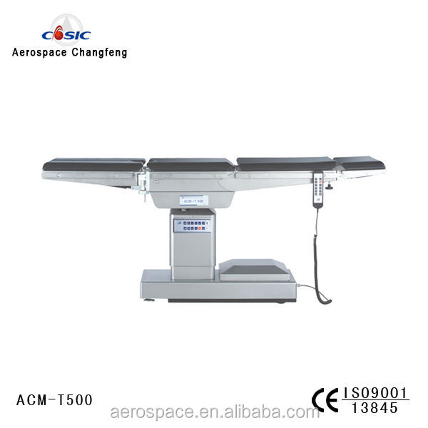 C-Arm compatible electrical hydraulic Operating Table (ACM T500)