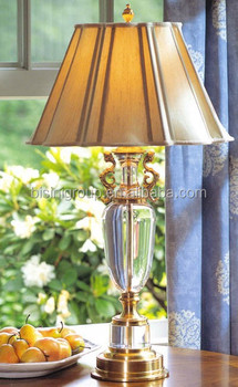 Vintage Clear Cut Crystal And Antique Bronze Boudoir Table Lamp Bf11 02051b Buy Vintage Crystal Table Lamp Luxury Crystal Table Lamp Antique Crystal