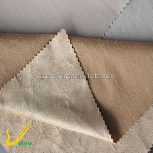 Best selling microfiber suede furniture fabric