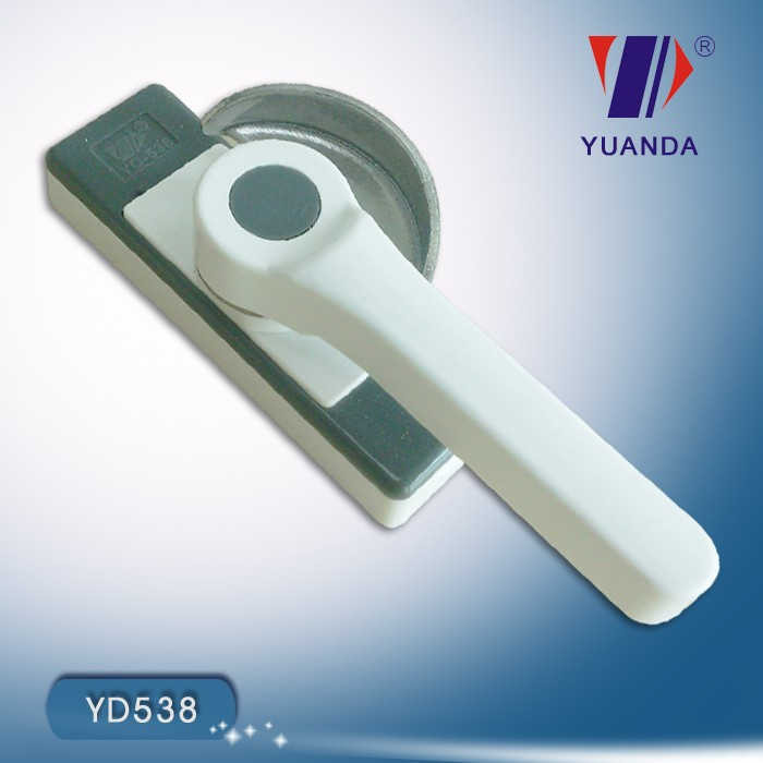 Plactis made upvc crescent lock for window accessory