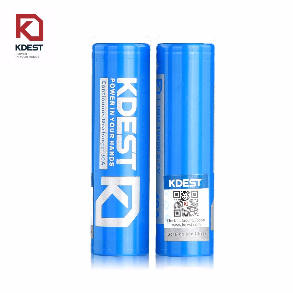 KDEST 18650 3.7v 2100mah rechargeable lithium ion 18650 battery bulk buy from china