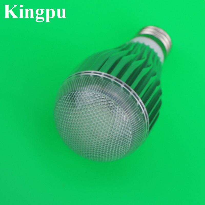 10pcs 15w lamp rgb led bulb e27 led dimmable light. Black Bedroom Furniture Sets. Home Design Ideas