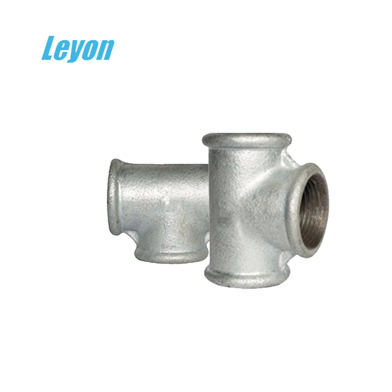 china en10242 galvanized malleable cast iron fittings din/ british standard beaded malleable iron pipe fittings
