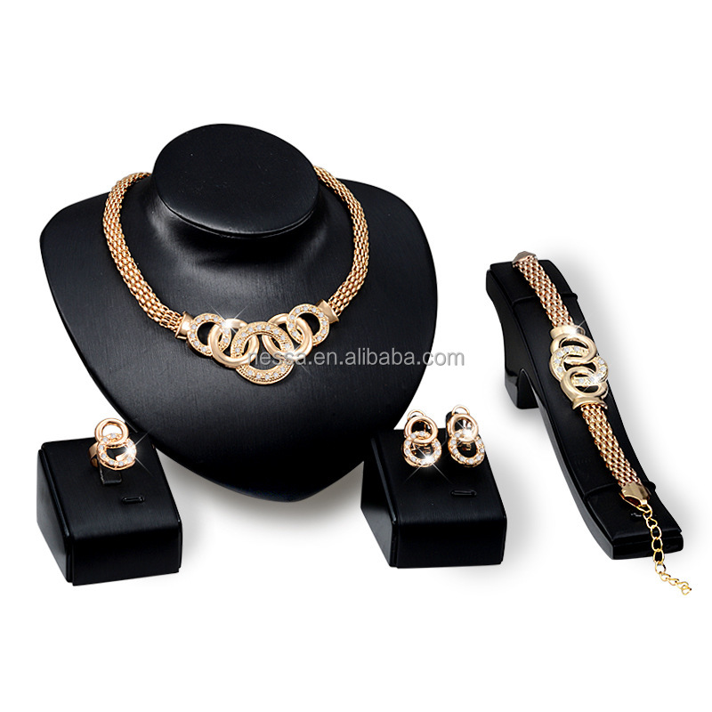 Fashion Cheap 18K Gold Jewelry <strong>Set</strong> Wholesale NSNS-5998