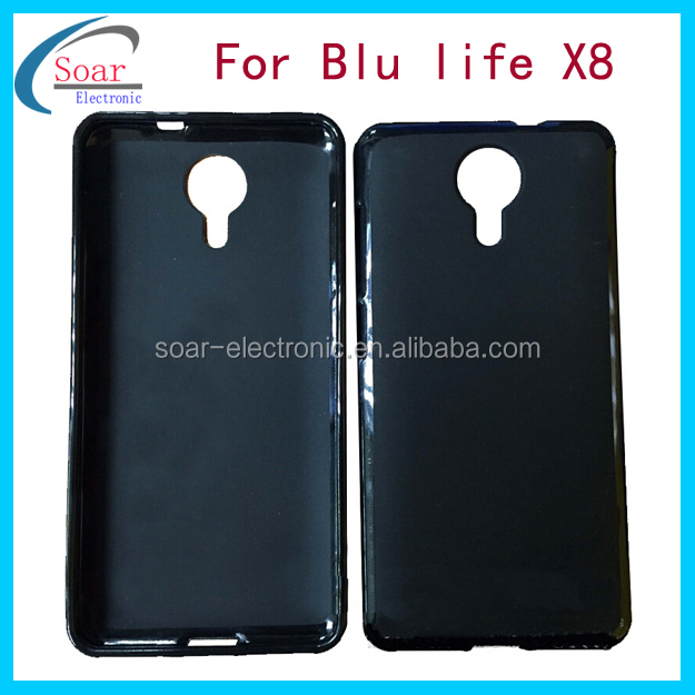 Factory manufacture cell phone cases for Blu Life X8,TPU covers for Blu life X8