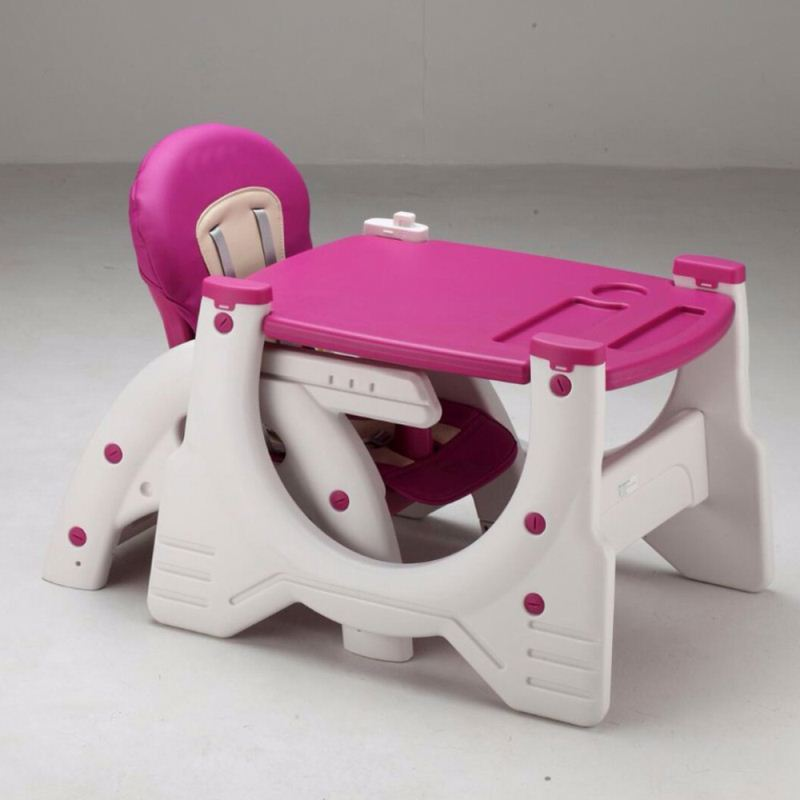High Quality Adjustable Foldable Adult Baby Feeding High Chair with EN14988