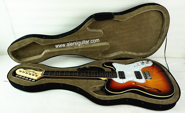 Tele Style Electrical Guitar Foam Case